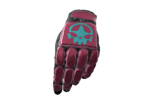 Day Of The Dead Padded Gloves