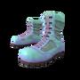 Teal Combat Boots