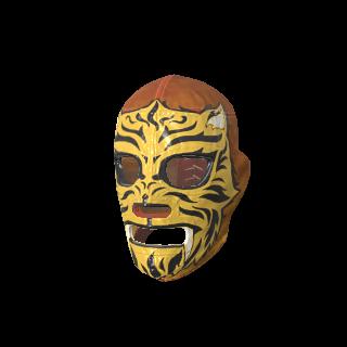 Agile Tiger Luchador Mask