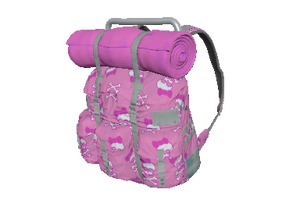 Pink Skulls Survivor Backpack