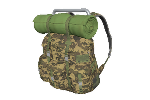 Camo Survivor Backpack