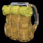 Orange Survivor Backpack