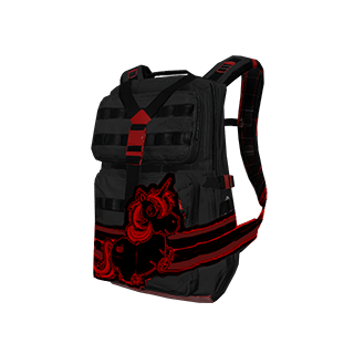Nightmare Unicorn Military Backpack
