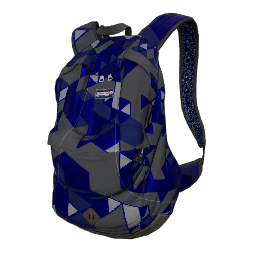 Blue Tri-Tech Backpack