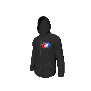 Twin Galaxies Hoodie (Black)