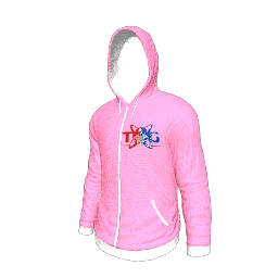 Twin Galaxies Hoodie (Pink)