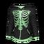Green Bone Hoodie