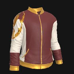 Golden Dragon Warmup Jacket