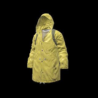 Yellow Raincoat Parka
