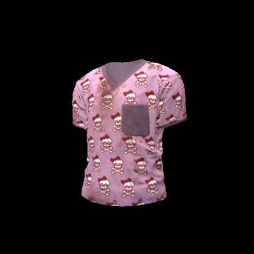 Happy Skull Scrubs Shirt - H1Z1 Showcase KOTK