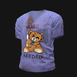Hugz Needed Scrubs Shirt