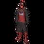 Blackened Chicken Ghillie Suit