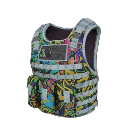Graffiti Tactical Body Armor