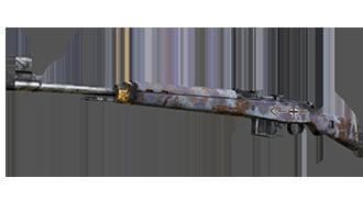 Gewehr 43  | Messerschmitt Camo (War Torn)
