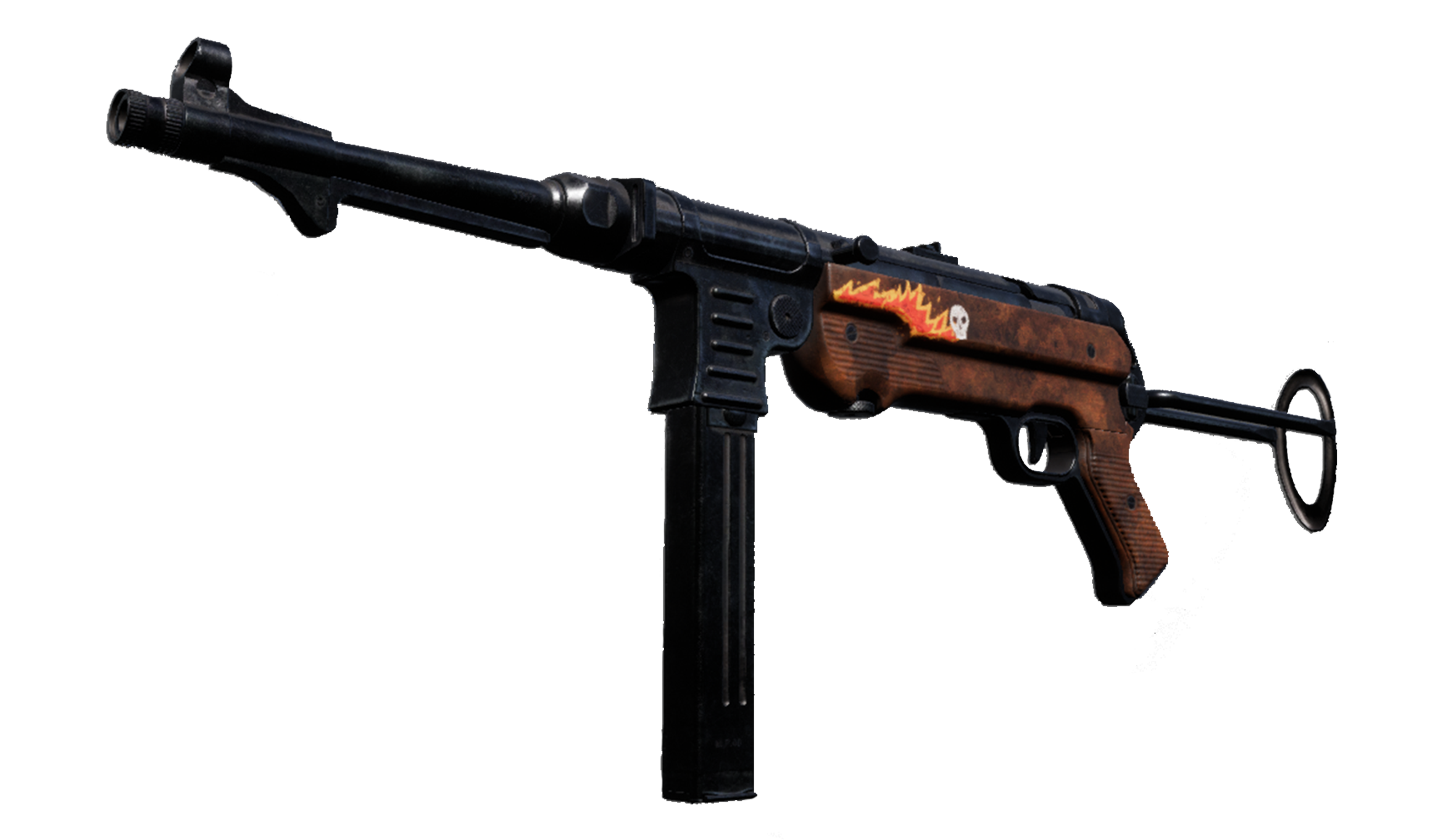 MP40 | Flames (Flawless)