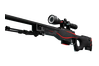 StatTrak™ AWP | Redline (Well-Worn)