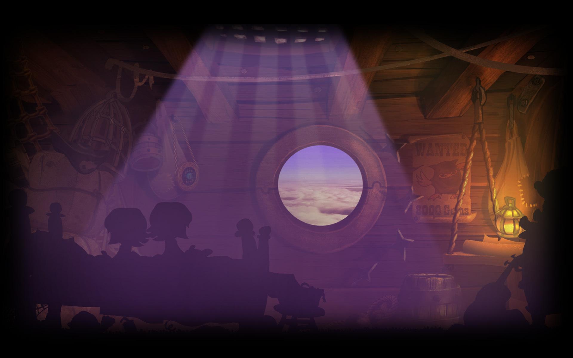 Giana's Air Ship Cabin