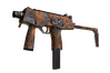 MP9 | Orange Peel (Well-Worn)
