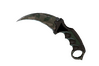 ★ StatTrak™ Karambit | Forest DDPAT (Well-Worn)