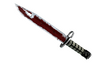 ★ StatTrak™ Bayonet | Crimson Web (Battle-Scarred)
