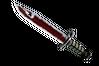 ★ Bayonet | Crimson Web (Battle-Scarred)