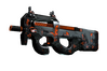 P90 | Trigon (Well-Worn)