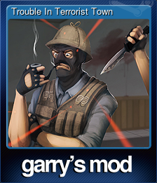 Trouble In Terrorist Town (Trading Card)