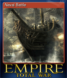 Naval Battle (Trading Card)