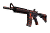 M4A4 | Radiation Hazard (Minimal Wear)