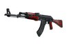 StatTrak™ AK-47 | Red Laminate (Minimal Wear)
