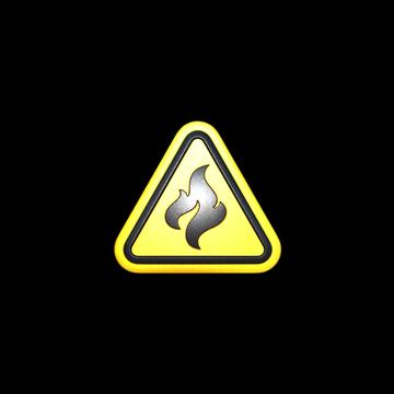 Flammable (Foil)