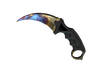 ★ StatTrak™ Karambit | Case Hardened (Well-Worn)