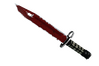 ★ Bayonet | Crimson Web (Well-Worn)