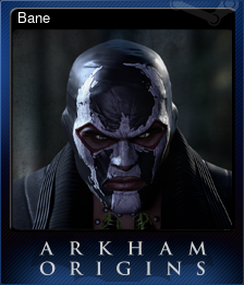 Batman Arkham Origins. Карточки.
