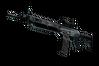 SG 553 | Damascus Steel (Battle-Scarred)